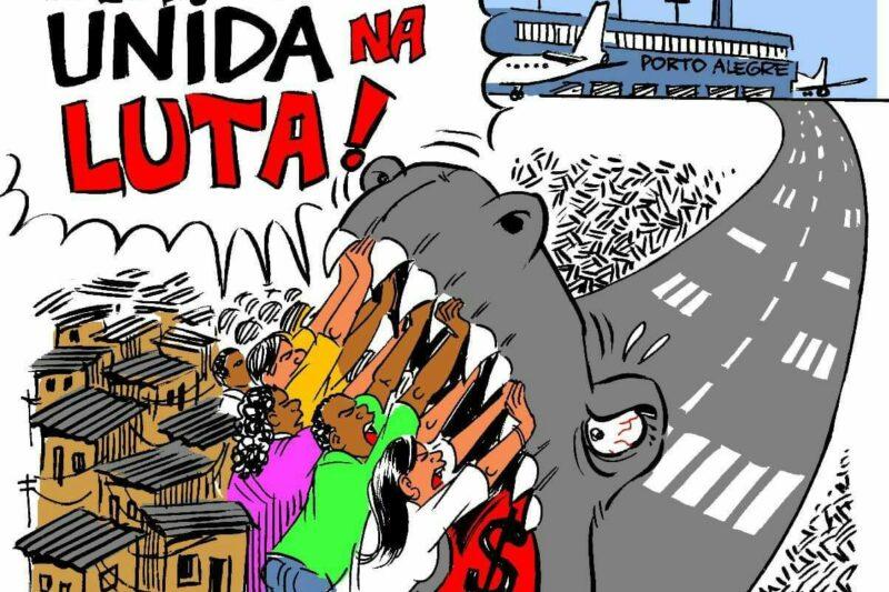 Solidarität mit den Menschen in Vila Nazaré!
