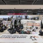 'Am Boden bleiben' beendet erfolgreiche Aktionen ++ Terminal 1 über sechs Stunden blockiert